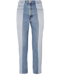 hellblaue Jeans von E.L.V. Denim