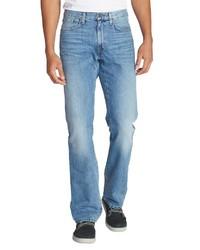 hellblaue Jeans von Eddie Bauer