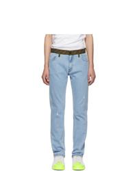 hellblaue Jeans von Fendi