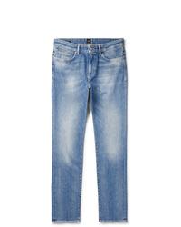hellblaue Jeans von Hugo Boss