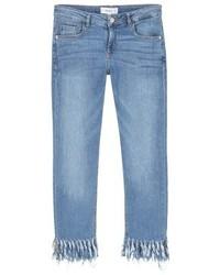hellblaue Jeans von Mango