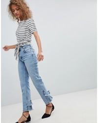 hellblaue Jeans von Miss Selfridge