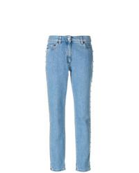 hellblaue Jeans von Moschino