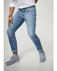hellblaue Jeans von Pierre Cardin