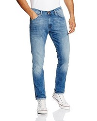 hellblaue Jeans von Wrangler