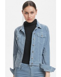 hellblaue Jeansjacke von Denim Hunter