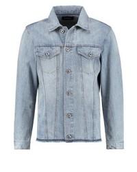 Hellblaue Jeansjacke von Diesel