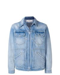 hellblaue Jeansjacke von Golden Goose Deluxe Brand