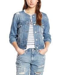 hellblaue Jeansjacke von Hilfiger Denim
