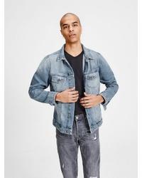 hellblaue Jeansjacke von Jack & Jones