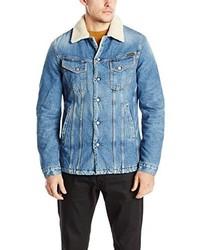 hellblaue Jeansjacke von Nudie Jeans