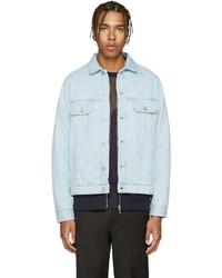 hellblaue Jeansjacke von Paul Smith