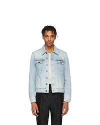 hellblaue Jeansjacke von Saint Laurent