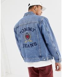hellblaue Jeansjacke von Tommy Jeans