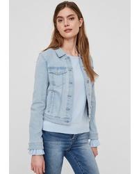 hellblaue Jeansjacke von Vero Moda