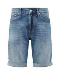 hellblaue Jeansshorts von Calvin Klein