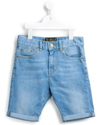 hellblaue Jeansshorts von Finger In The Nose