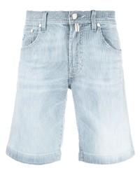 hellblaue Jeansshorts von Jacob Cohen