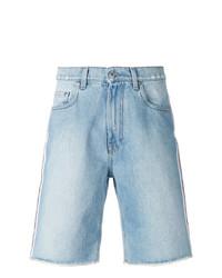 hellblaue Jeansshorts von MSGM