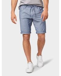 hellblaue Jeansshorts von Tom Tailor