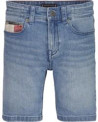 hellblaue Jeansshorts von Tommy Hilfiger