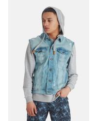 hellblaue Jeansweste von BLEND