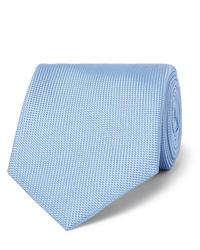 hellblaue Krawatte von Brioni