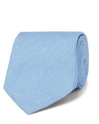 hellblaue Krawatte von Dunhill