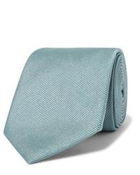 hellblaue Krawatte von Giorgio Armani