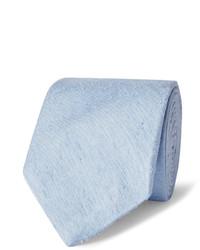 Hellblaue Krawatte von Richard James