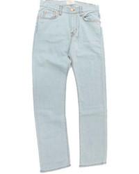 hellblaue leichte Jeans