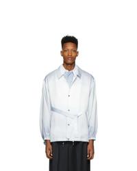 hellblaue Shirtjacke von Fumito Ganryu