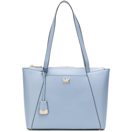 88d8efe4a04c1 ... hellblaue Shopper Tasche aus Leder von MICHAEL Michael Kors ...