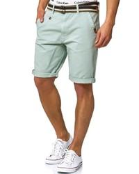hellblaue Shorts von INDICODE