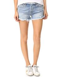 hellblaue Shorts von NSF