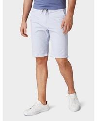 hellblaue Shorts von Tom Tailor Denim