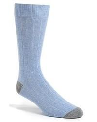 hellblaue Socke