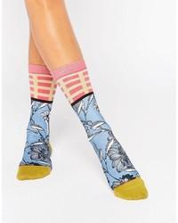 hellblaue Socken von Stance