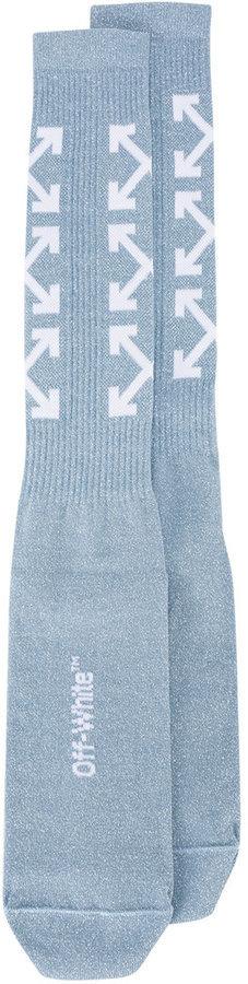 hellblaue Socken von Off-White