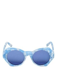 hellblaue Sonnenbrille