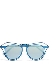 hellblaue Sonnenbrille von Karen Walker