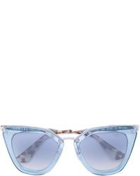 hellblaue Sonnenbrille von Prada