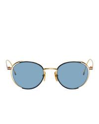 hellblaue Sonnenbrille von Thom Browne