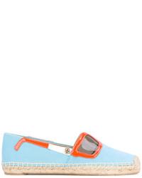 hellblaue Sonnenbrille von Tory Burch