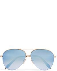 hellblaue Sonnenbrille von Victoria Beckham