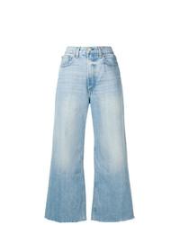hellblaue weite Hose aus Jeans von Rag & Bone