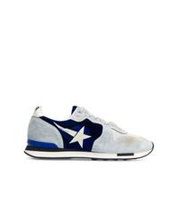 hellblaue Wildleder niedrige Sneakers von Golden Goose Deluxe Brand