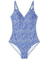hellblauer Badeanzug von Mango