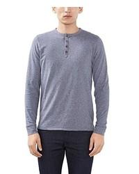 hellblauer Henley-Pullover von Esprit