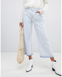 hellblauer Hosenrock aus Jeans von Pepe Jeans